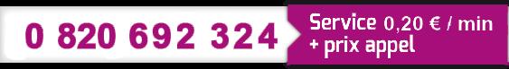 OhCab : numéro de contact chauffeur